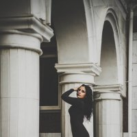 Lady in black :: Анна Mэдисон