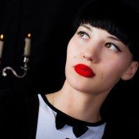 бархатные губы :: Лилия Лекомцева
