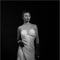 Портрет невесты в стиле Retro-Noir :: Dalliya Elle