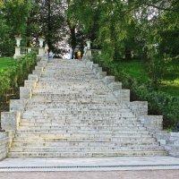 Лестница к Дворцу.(Павловск) :: Александр Лейкум