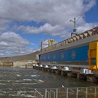 Богучанская ГЭС :: Сергей Черных