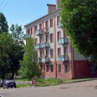 Дом на набережной Волги в Вольске. :: Анатолий