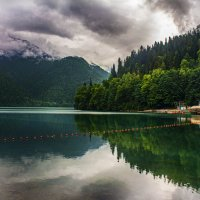 Озеро Рица. Абхазия :: Helena Olipir