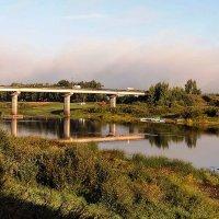 Устюжна. Мост через Мологу :: Galina