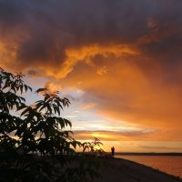Небесная драма на закате :: Ната Волга
