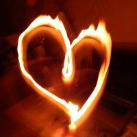 Игра с огнем: Пылающее сердце. :: Polina Akulenko