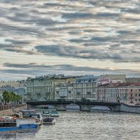 Вид на мост Белинского (Симеоновский в прошлом) :: Владимир Горубин