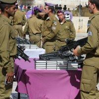 Принятие присяги у Стены Плача в Иерусалиме :: Аркадий Басович