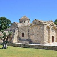 Кипр, Кити, Церковь Панайя-Ангелоктисти :: Михаил Кандыбин