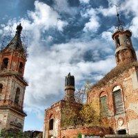 Храмы уходят к небу :: Андрей Михайлин