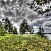Озеро и небо. :: Сергей Адигамов