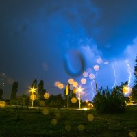 Гроза. Пенза (16.05.14) Фото 1 :: Алексей Макеев