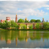 Новодевичий монастырь весной :: ValyakaN Naumkina Valentina