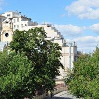 Дом на набережной, вид с тыла :: Алексей Казаков