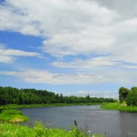 река Луга :: Михаил Жуковский