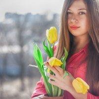 Весна в вазе :: Яна Гончарова