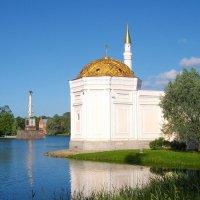 Турецкая баня с видом на Чесменскую колонну и Адмиралтейство. :: Лия ☼
