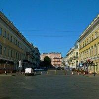 на Приморском на бульваре :: Александр Корчемный