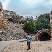 Развалины замка крестоносцев Эхиам.  Ruins of Ehiam crusaders' castle. :: Vladimir Dunye