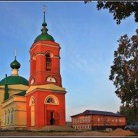Церковь Иконы Божией Матери Казанская в Каменках :: Дмитрий Анцыферов