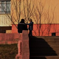 ...папа, я с тобой... :: Ольга Нарышкова