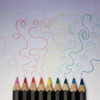 Танцующие карандаши :: Anna Lubina