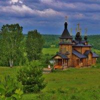 Деревянный Храм :: Ксения Загайнова