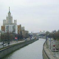 Яуза с Высокояузского моста :: Сергей Антонов