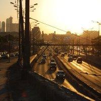 Вид на Крымский мост. Москва :: Нелли *