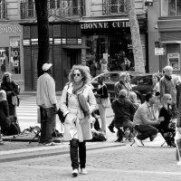 На улицах Парижа... :: Галина Кучерина