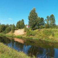 Утро на реке Оредеж. :: Жанна Мааита
