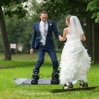 лето свадьба прыжки на сноуборде)) :: Aleksandr Zubarev