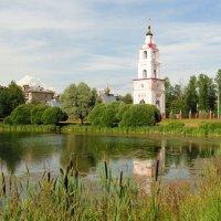пейзаж с колокольней :: Ольга Рывина