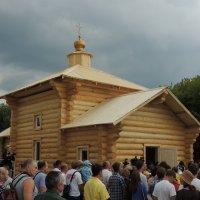 Церковь Сергия Радонежского («Русское поле» в Коломенском) :: Александр Качалин