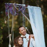 Свадебное фото в стиле - Бохо :: Evgeniy Lezhnin