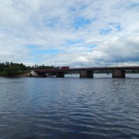 Выборг- мост через реку :: Валентина Папилова