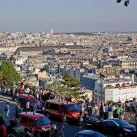 Вид на Париж с холма :: Михаил Сбойчаков