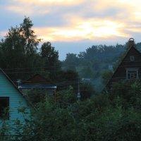 Вечер в деревне :: Владимир  Зотов