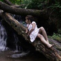 Возле водопада :: Динa Vоzdvizhеnskаyа