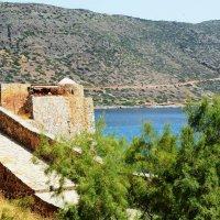Строяния на Спиналонге и побережье Крита :: Максим Башлак