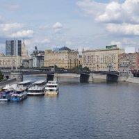 Москва-река. :: Ирина Нафаня