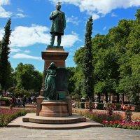 Памятник Йохану Рунебергу.(Хельсинки) :: Александр Лейкум