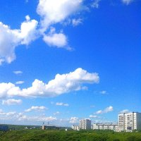 облака уходящие вдаль :: Светлана Козлова