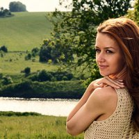 На реке Семенек. :: Женя Лузгин