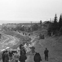 Ханты-Мансийск 1960г. Экскурсия. :: Олег Афанасьевич Сергеев