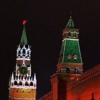 Спасская и Сенатская башни :: Владимир А. Украинский