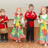 Русское народное. Самые маленькие! :: Дарья Казбанова
