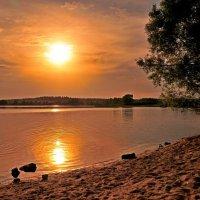 Пляж на закате :: Андрей Куприянов