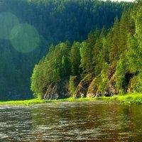 Река Большой Инзер. :: Владимир