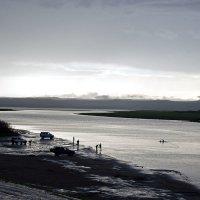 Серия о. Мылки. Вечер на озере. :: Поток